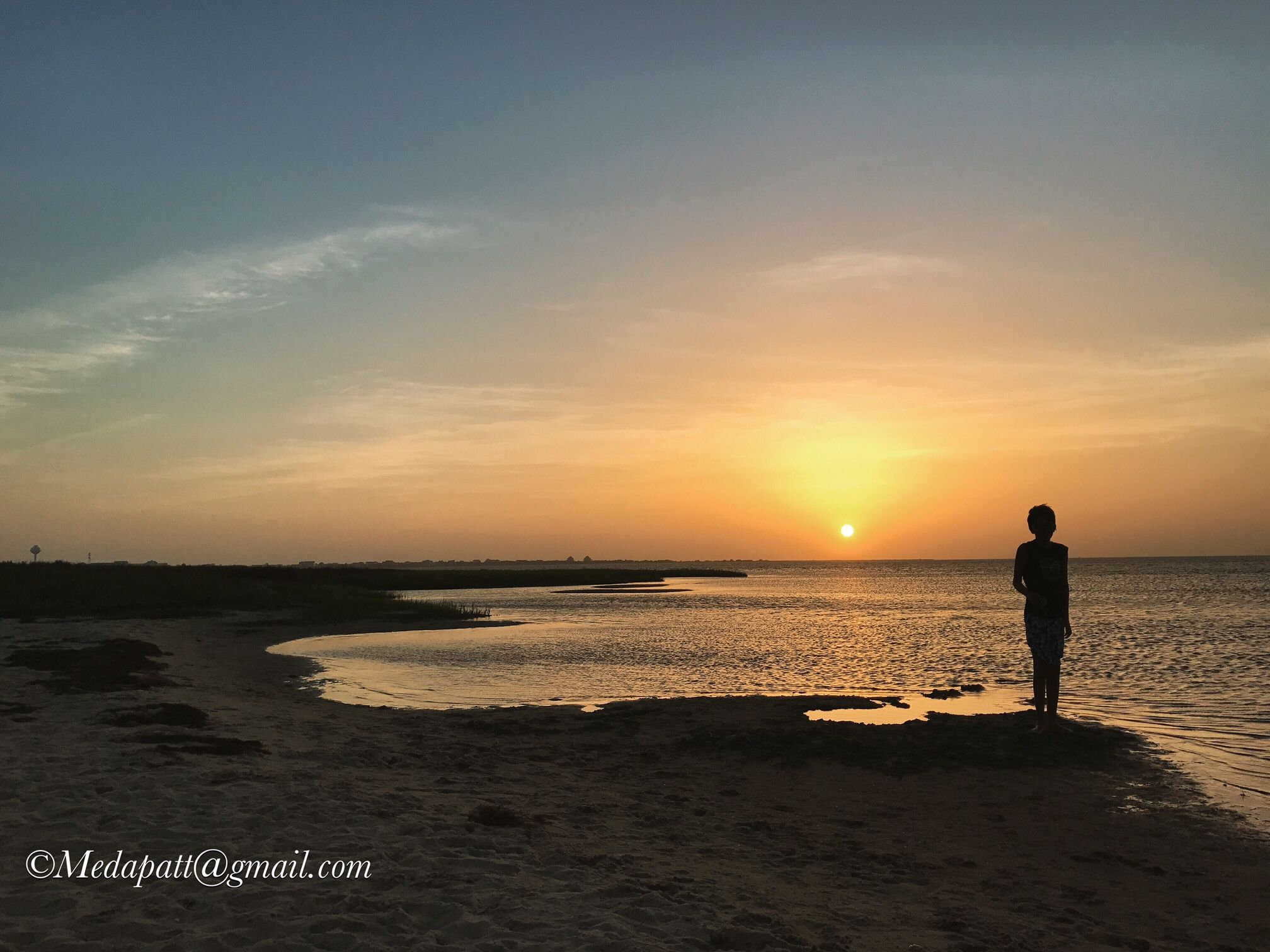 Sunset sound side in hatteras outer banks photo contest