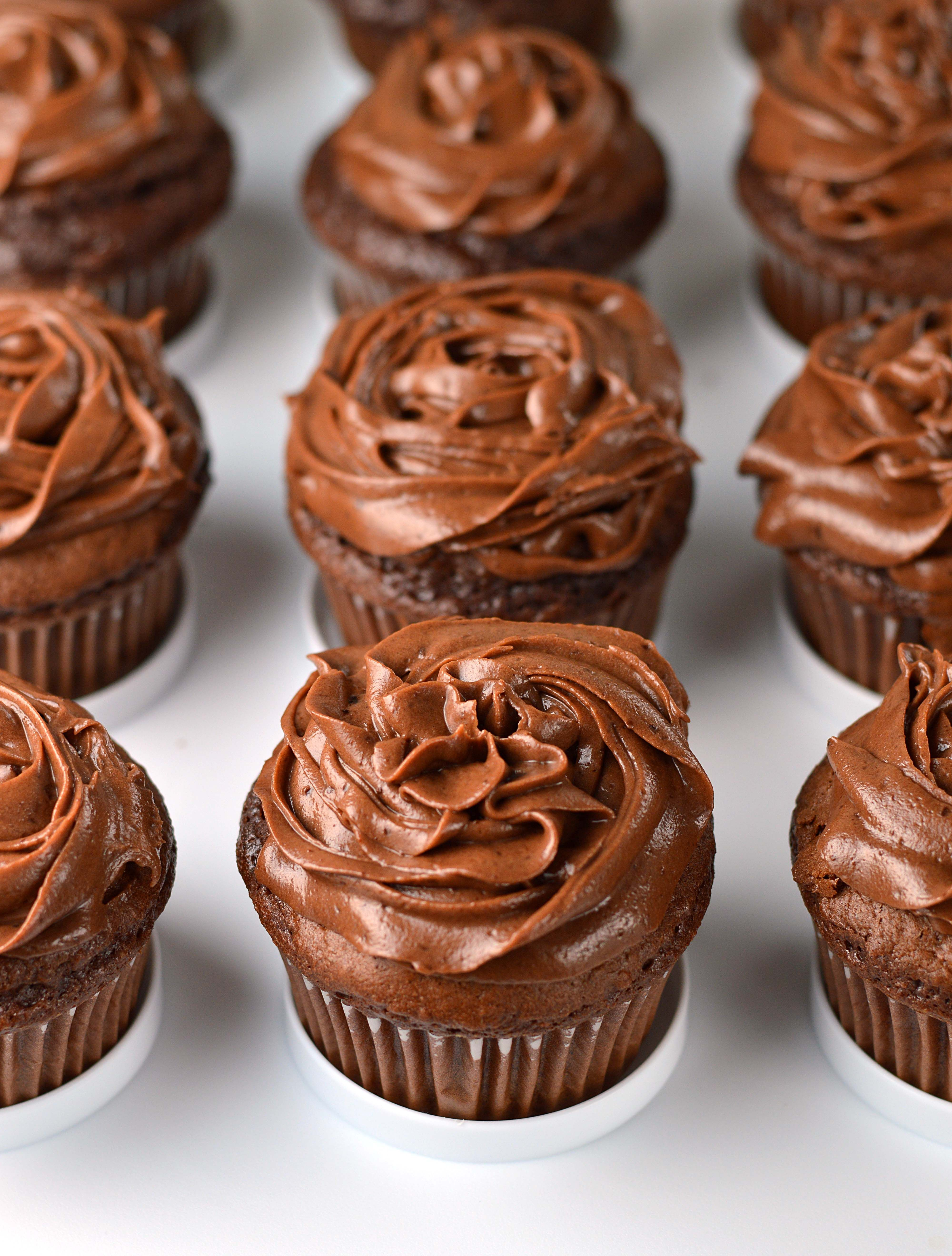 Chocolate Mascarpone Truffle Cupcakes Recipe Fun Cupcake