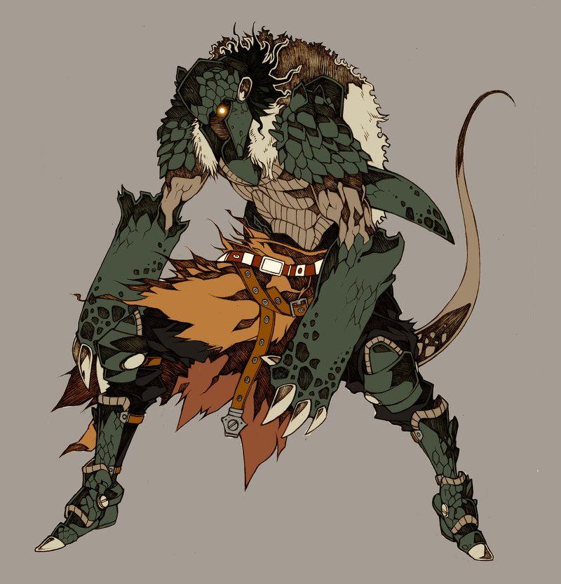 Demon Genbu - Commissh by MizaelTengu.deviantart.com on @deviantART