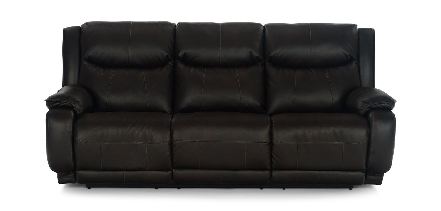 Cool Swifty Power Recline Sofa With Power Adjustable Headrests Ocoug Best Dining Table And Chair Ideas Images Ocougorg