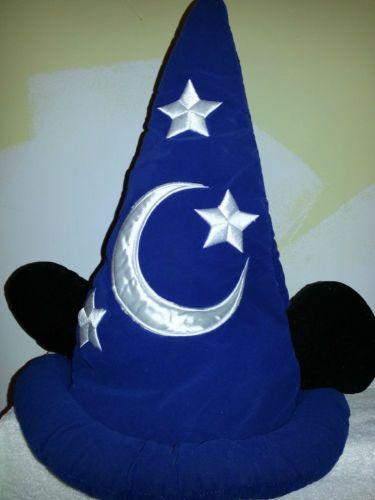 Disney Resort Mickey Mouse Sorcerer Wizard Costume Hat Halloween Adult Teen