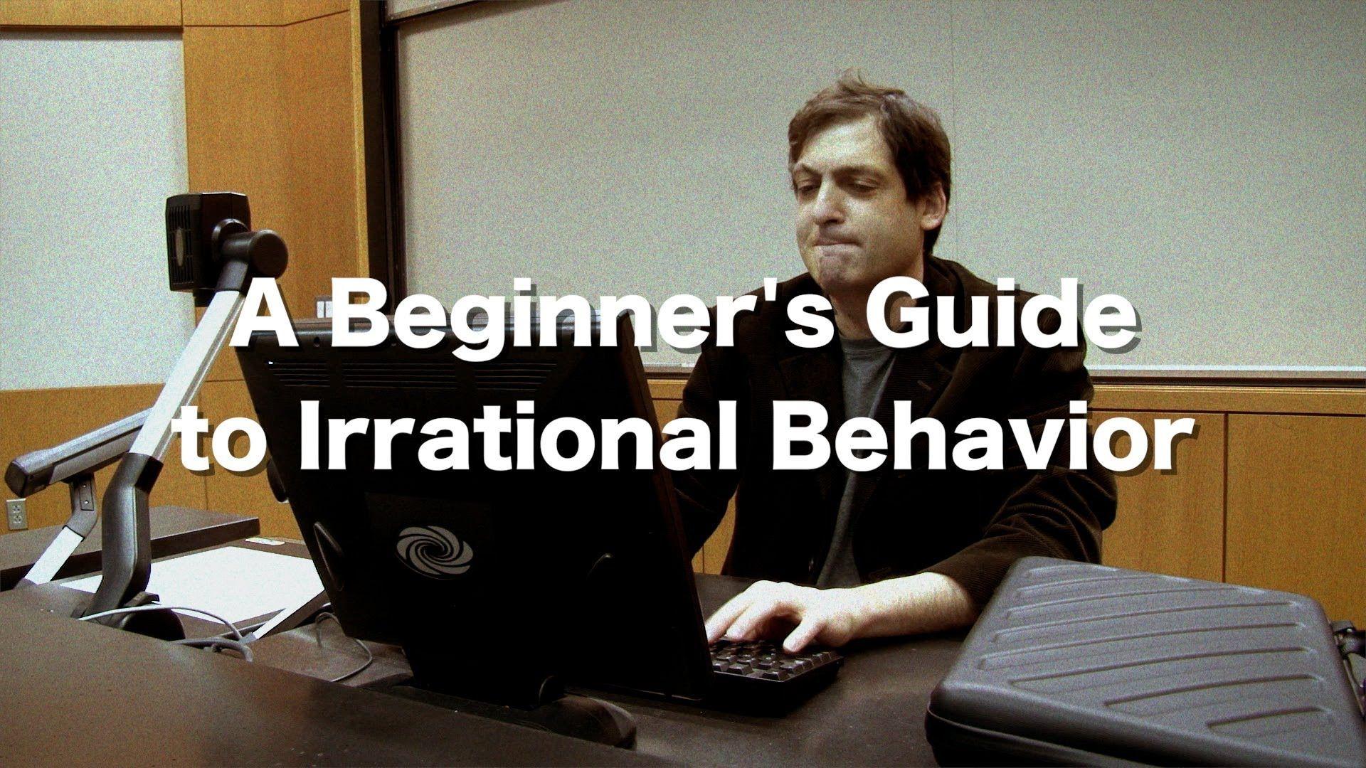 """[學校的學生都不見了?] A Preview to """"A Beginner's Guide to Irrational Behavior"""" http://youtu.be/lUfzzpliUuY 「非修不可」、會「搖滾你的世界」、由知名心理學家 Dan Ariely 教授的怪誕行為學: A beginner's guide to irrational behavior。 和 Feynman Liang 一樣充分利用 MOOC 開拓你的未來吧!哞~。"""