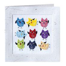 Nine Owls Card