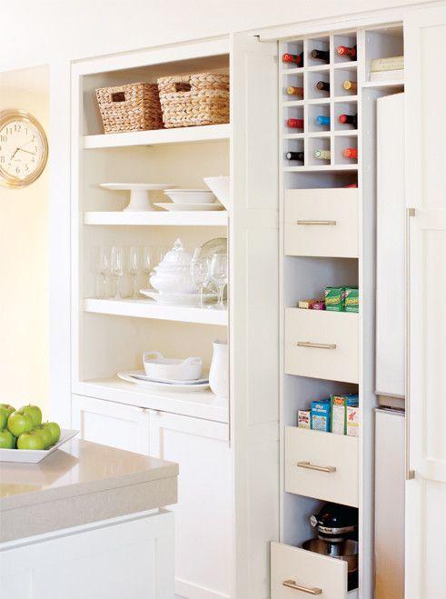 Small kitchen ideas and inspirations - Küçük mutfakları organize etmenin 7 yolu