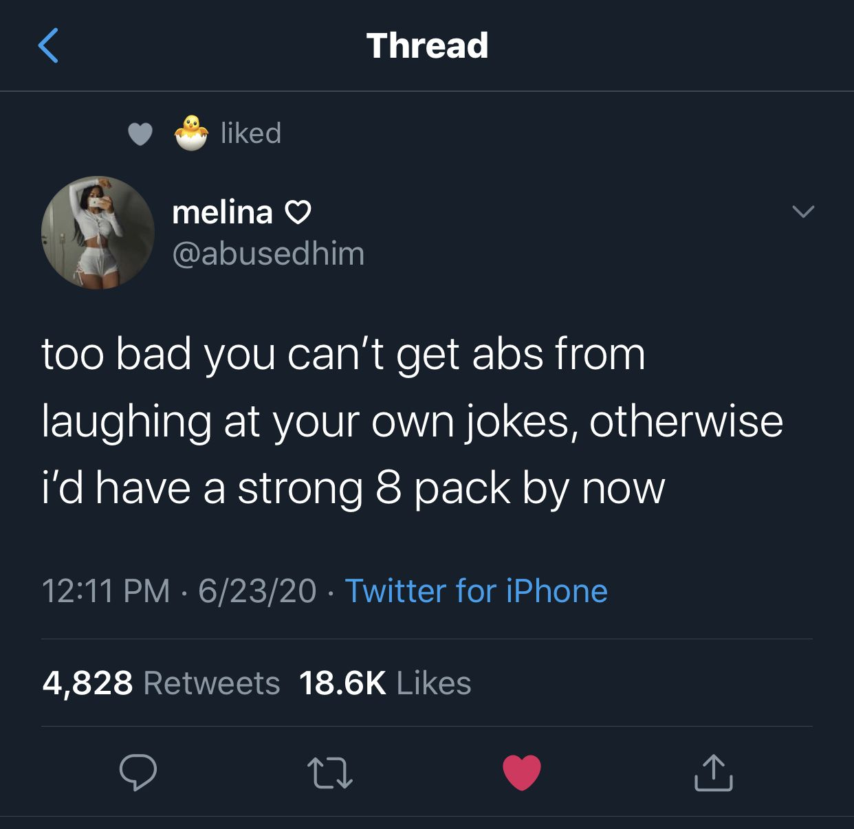 Can You Get Abs From Laughing A Lot Pin On Re Tweet