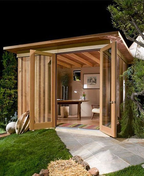 Image Result For Hot Home Yoga Studio Shed (With Images