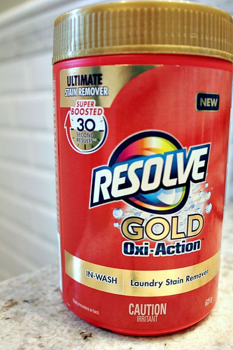 Bleaches And Stain Removers 172208 2 Resolve Gold Laundry Stain