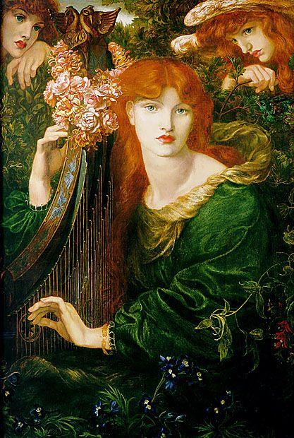 Pre Raphaelite Edward Burne-Jones/'s Angel Trumpet Counted Cross Stitch Chart