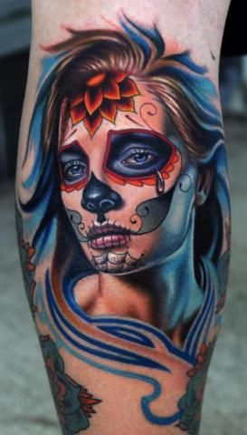 Tatuaje Tattoos Tattoo Ink Tattooh Tatus Catrina Santa Muerte