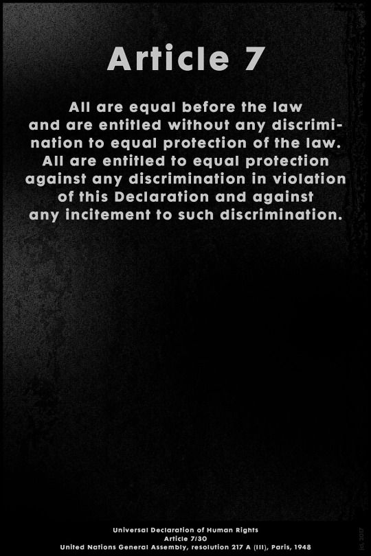 Jcl Graphic File Declaration Of Human Rights Discrimination The Unit