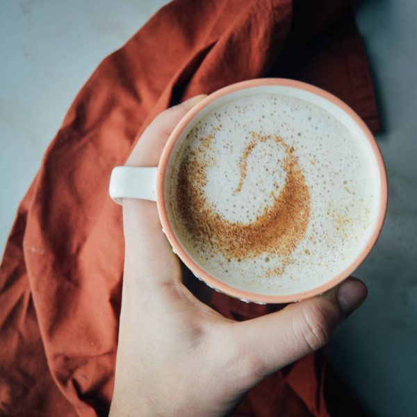 Vanilla Cinnamon Oatmilk Latte