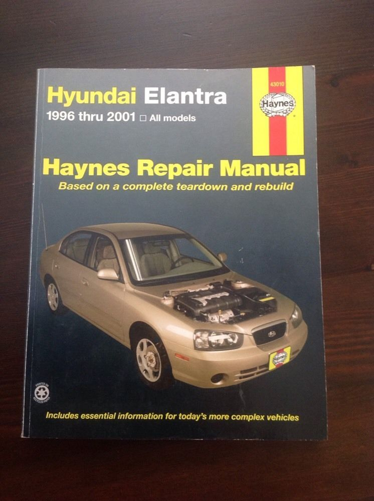 Haynes Hyundai Elantra 1996 2001 Auto Repair Manual Hyundai Elantra Elantra Repair Manuals