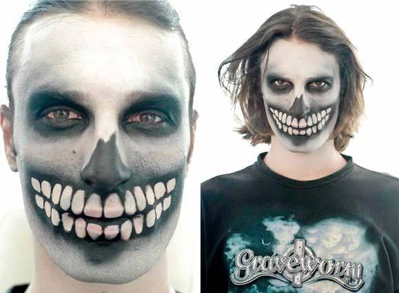 Maquiagem de caveira para o Halloween - Dicas e passo a passo ...