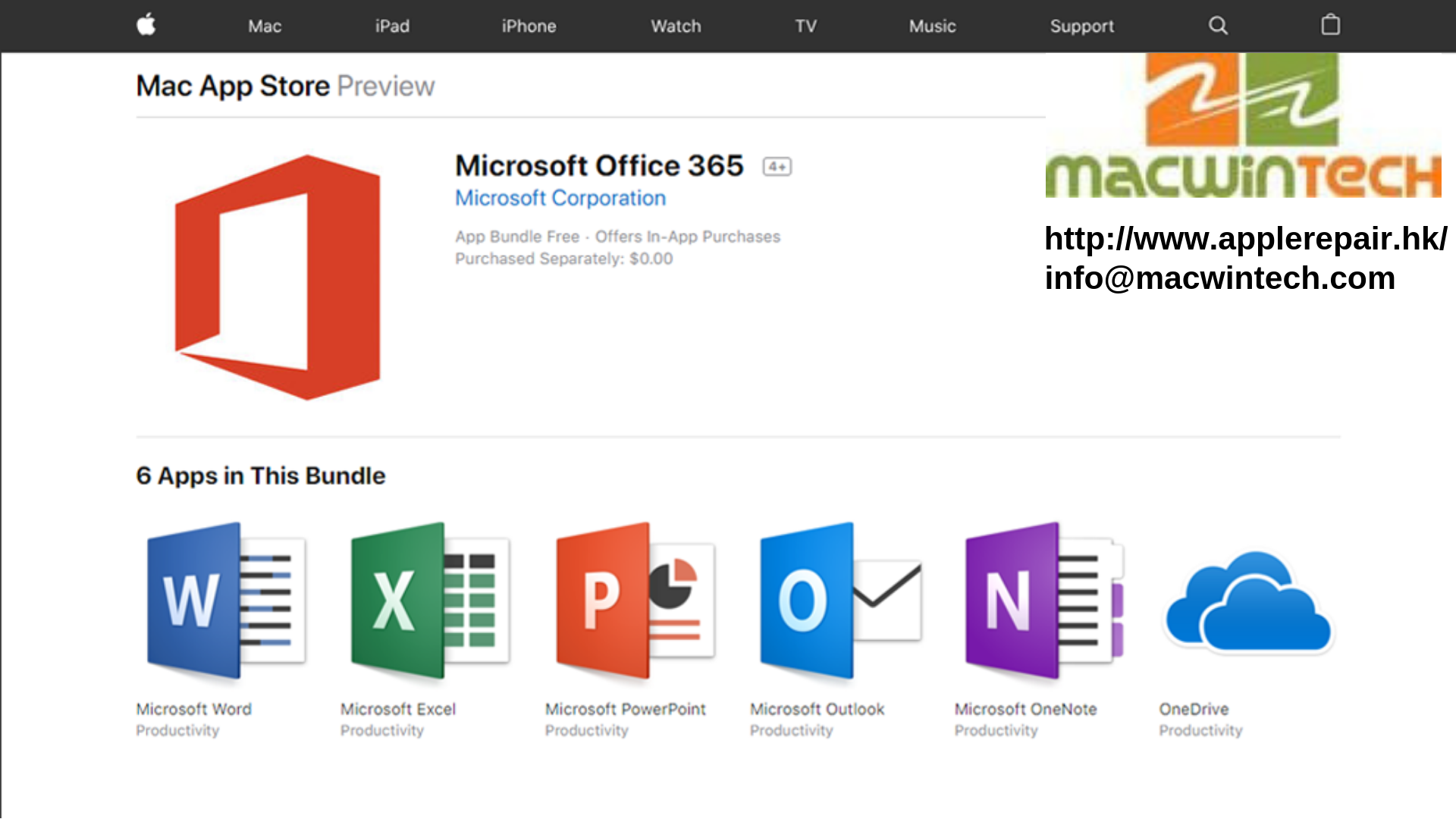 Today, Office 365 is available on the Mac App Store, making it