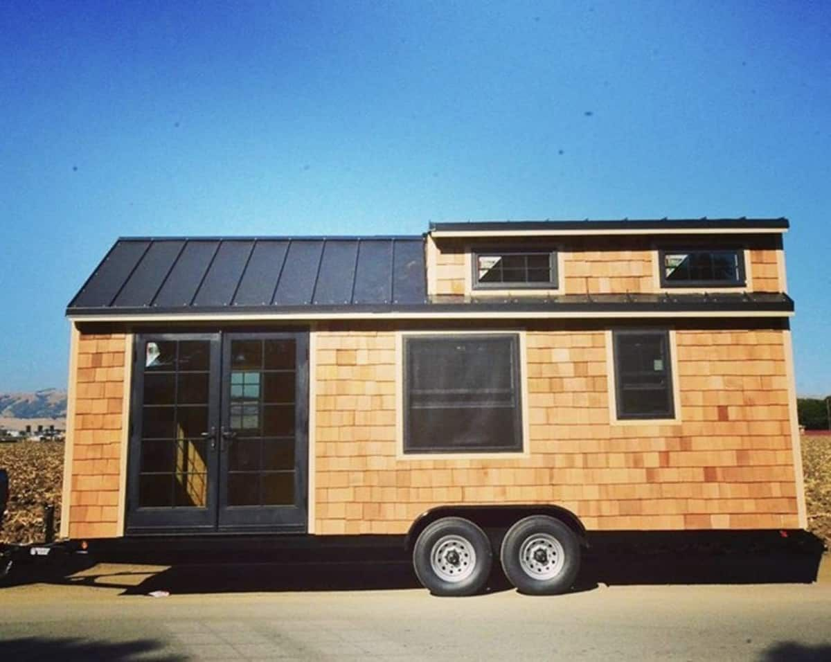 Best Cedar Shake Tiny House Shell Tiny House For Sale In San 400 x 300