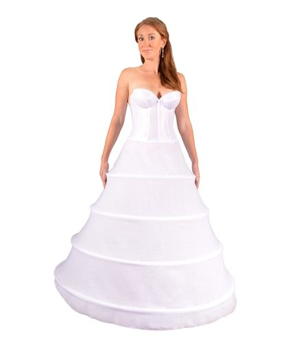 undercover bridal 7400 four ring hoopskirt undercover bridal