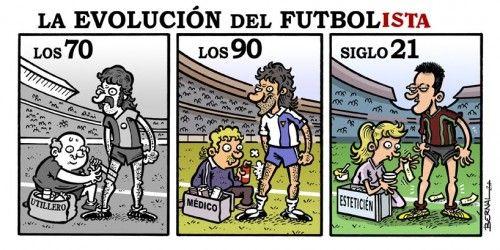 Evolución futbolista