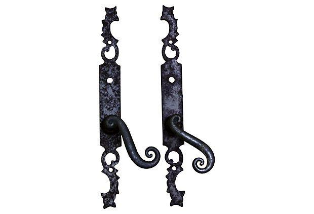 Antique French Door Handles, Pair on OneKingsLane.com