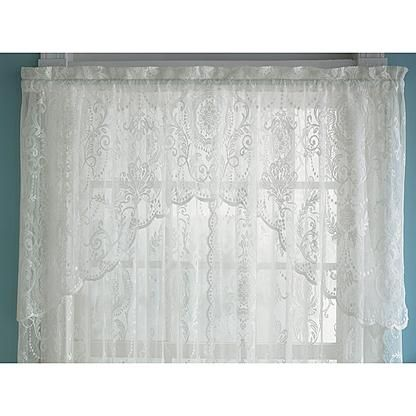 Kmart Com Lace Window Decorative Curtain Rods Valance