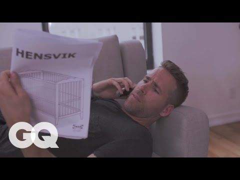 Video Of Ryan Reynolds Putting Together Crib Ikea Crib