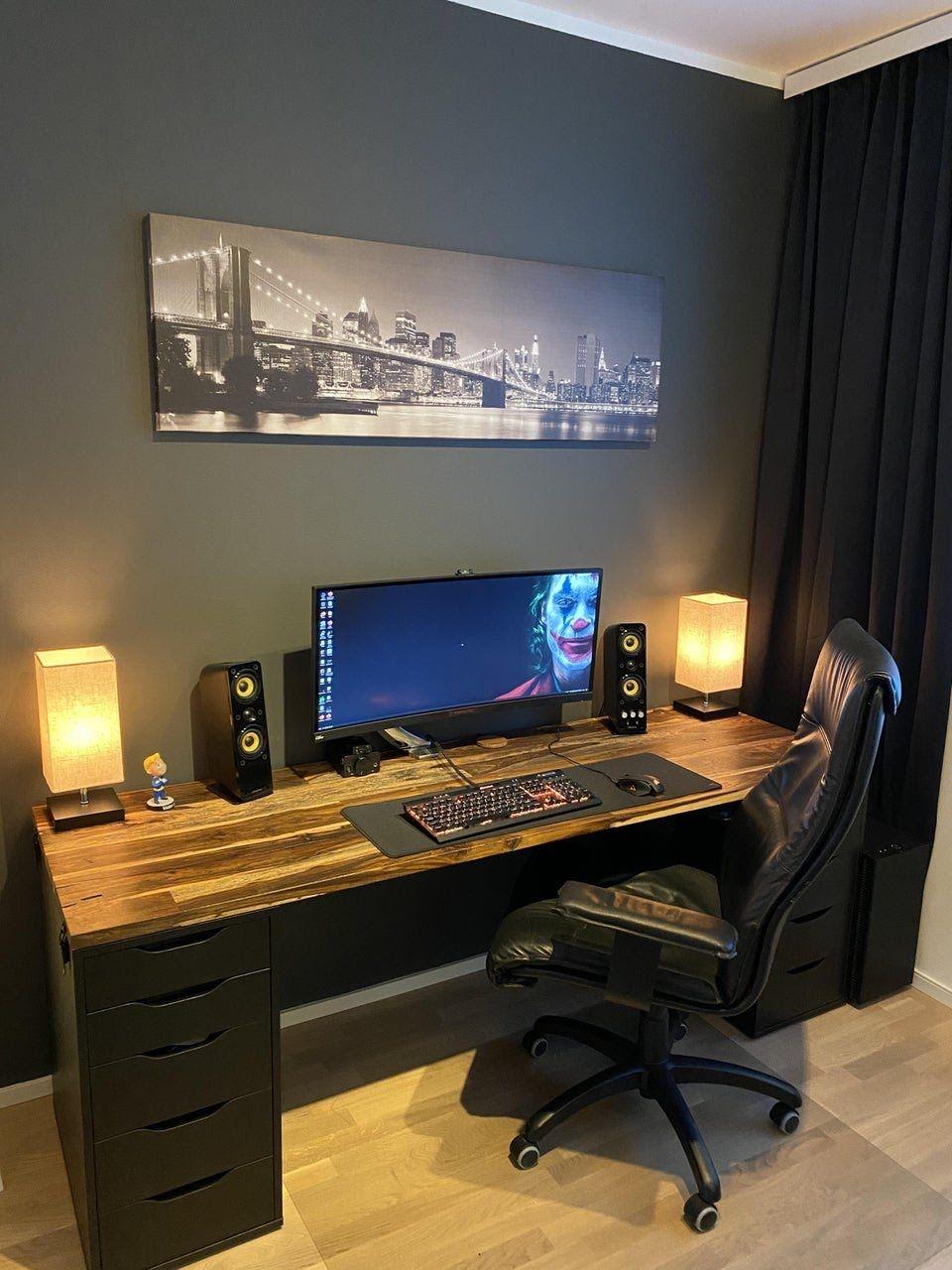 Reddit Battlestations My Setup So Far In 2020 Home Office Setup Office Setup Home Office Design