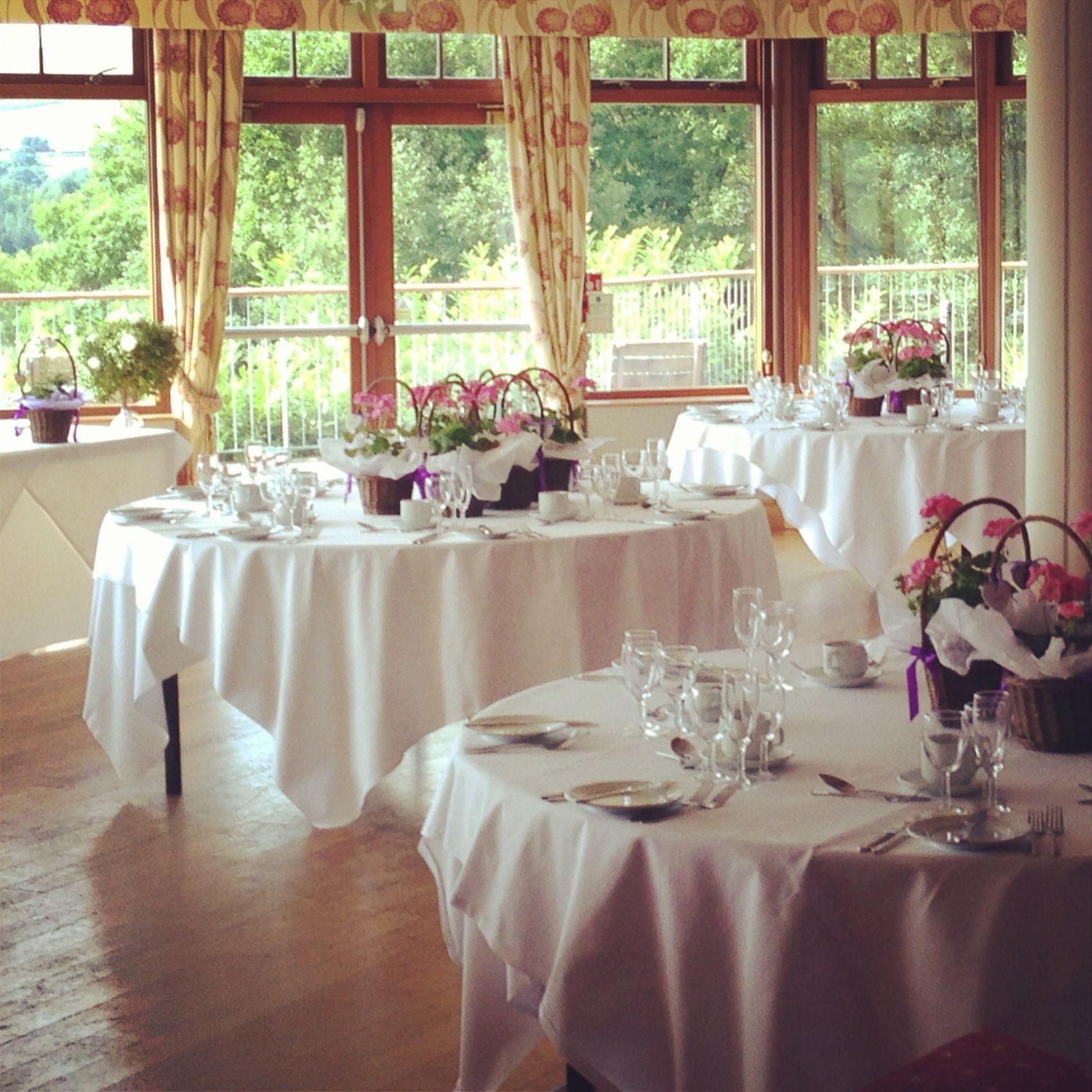 Wedding venue decoration images  Wayfarer Lake Vyrnwy Wedding Breakfast  Vyrnwy Weddings