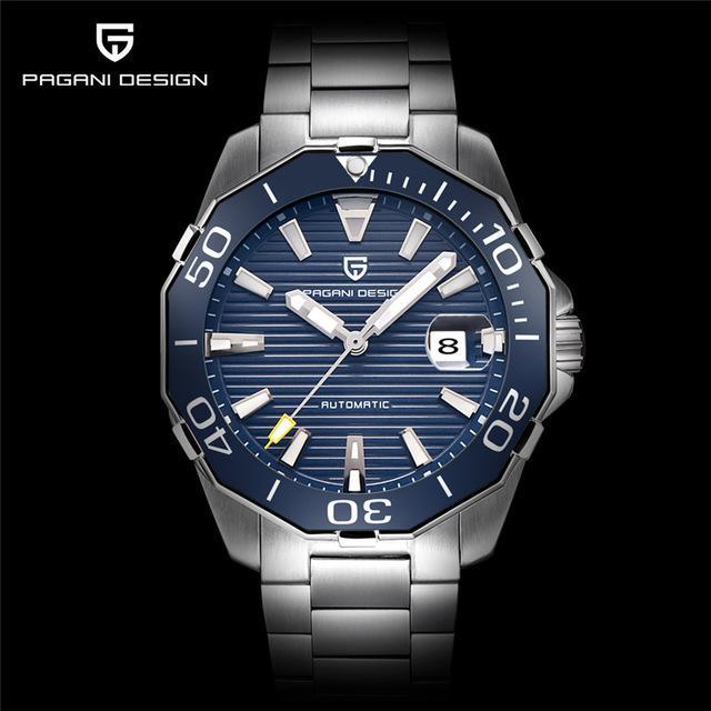 Pagani Design Top Brand Luxury Men S Mechanical Watches Classic Diving Series Waterproof Watch Men Sport Clock Relog Montre Homme Luxe Montre Pour Homme Montre