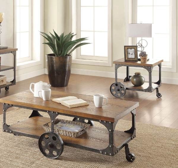 Best Coaster Furniture Norland 3 Piece Occasional Table Set 400 x 300