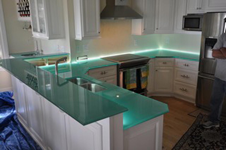 Glas Arbeitsplatte Küche Granit Verarbeiter Richmond Va ...