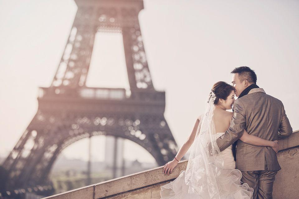Paris Prewedding by Edwin Tan Photography