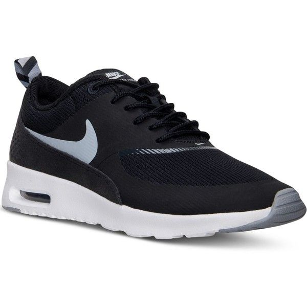 Nike Women s Air Max Thea Running Sneakers from Finish Line (695 HKD) ❤  liked on Polyvore featuring shoes cf16a74b1
