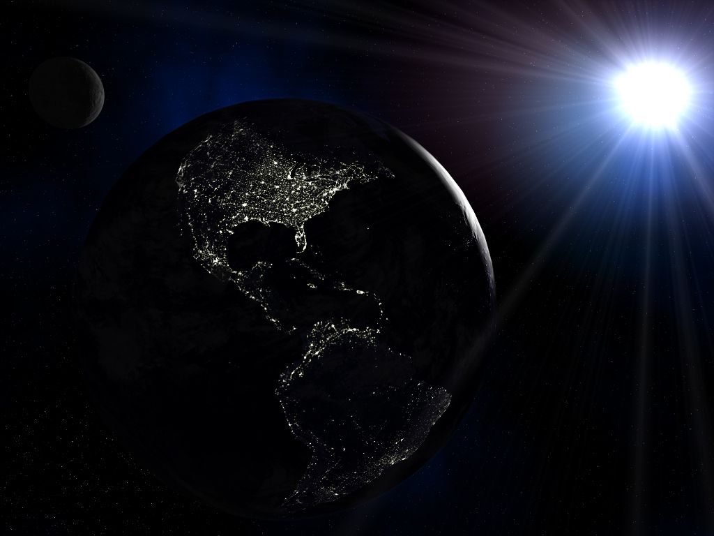NASA announces 3 days of darkness on Earth 2014