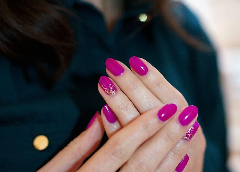 mardi gras semilac - Szukaj w Google | Nail design | Pinterest ...