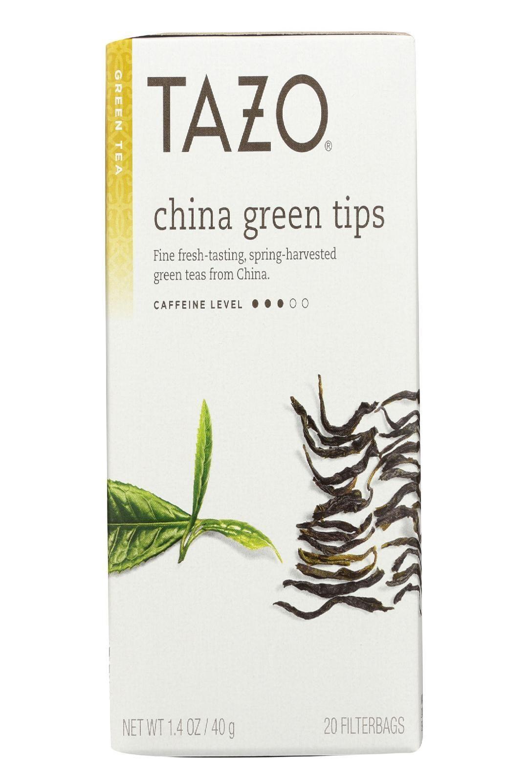 Tazo Tea Green Tea China Tips Case Of 6 20 Bag
