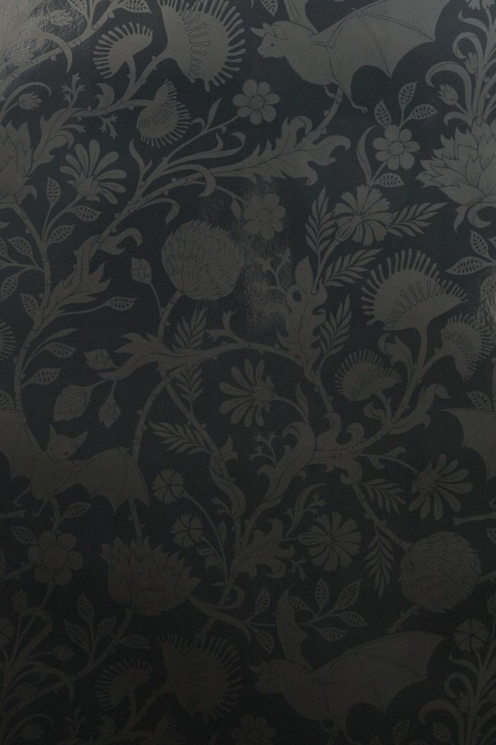 Elysian Fields Wall Paper by flavorpaper.com. Bats and venus fly traps. Can it get any more awesome? I think not.