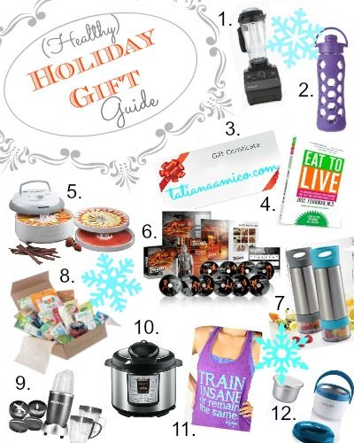 Healthy Holiday Gift Guide: 12 Gift Ideas For The Health Conscious Person  On Your List Stocking Stuffers! - Healthy Holiday Gift Guide: 12 Gift Ideas For The Health Conscious