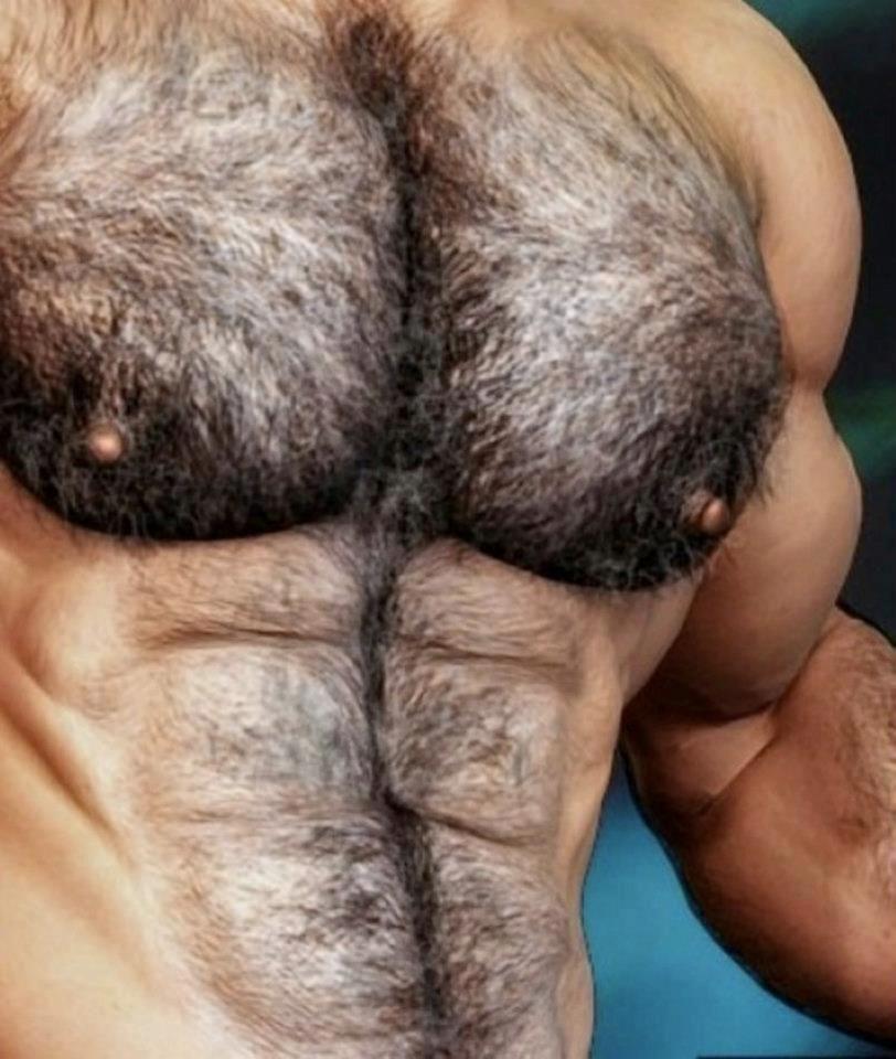 Мужские волосатые попки блестящая