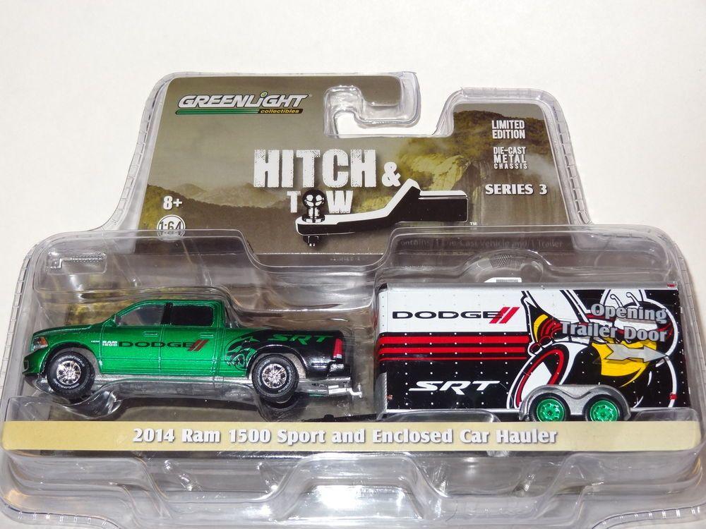 GL GREEN MACHINE CHASE CAR HITCH & TOW 2014 DODGE RAM 1500
