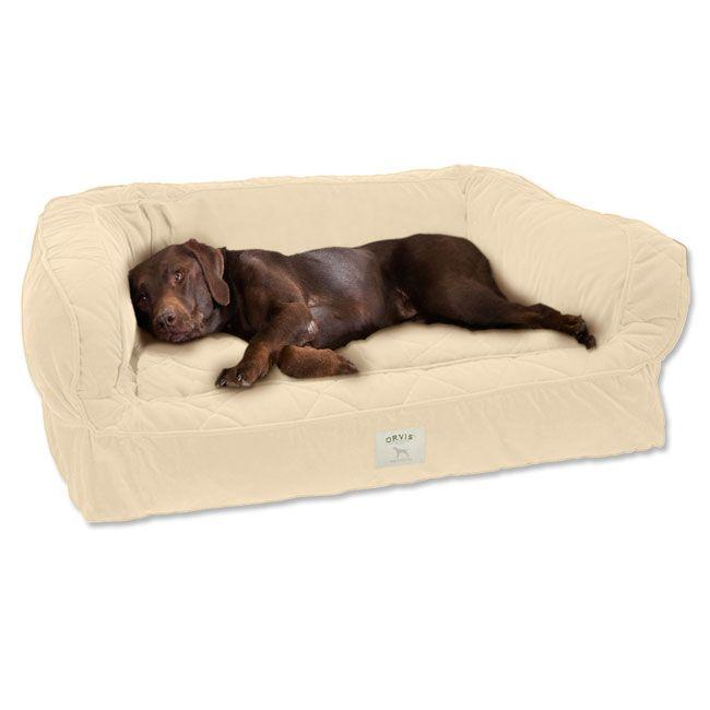 Poochplanet 62007 40 X 28 X 10 Restorenest Memory Foam Dog Bed Brown Dogbedideas Dog Bed Memory Foam Dog Bed Dog Bed Large