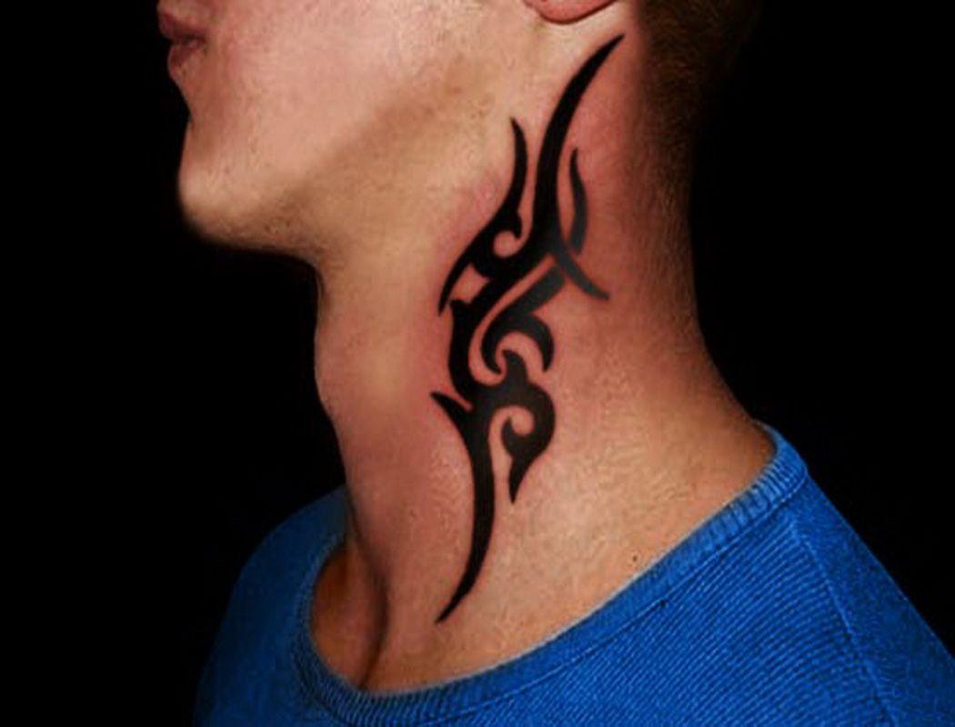 Amazing Neck Tattoos For Men Tattoos Park Neck Tattoo For Guys Tribal Tattoos Neck Tattoo