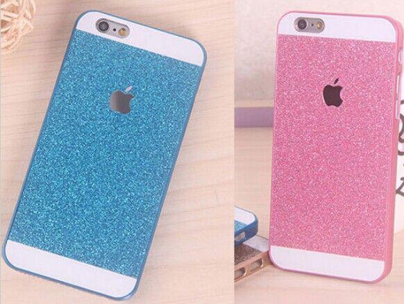 iphone 6 plus pink glitter case