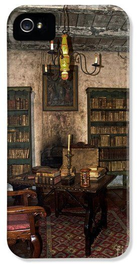 Junipero Serra Library In Carmel Mission iPhone 5 Case / iPhone 5 / Samsung Cover for Sale by RicardMN Photography