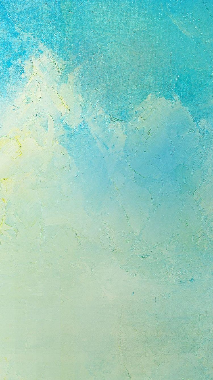 Wallpaper iphone soft - 750x1334 Wallpaper Paint Cracks Soft Colors Blue