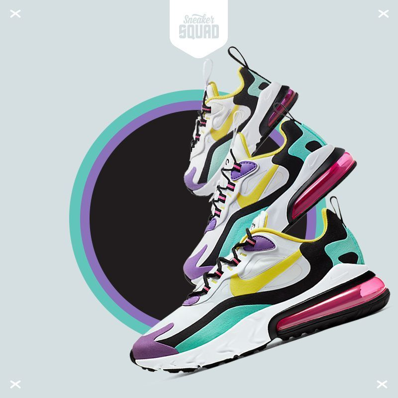 Air Max 270 React (Geometric Abstract) Damesschoen. Nike NL ...