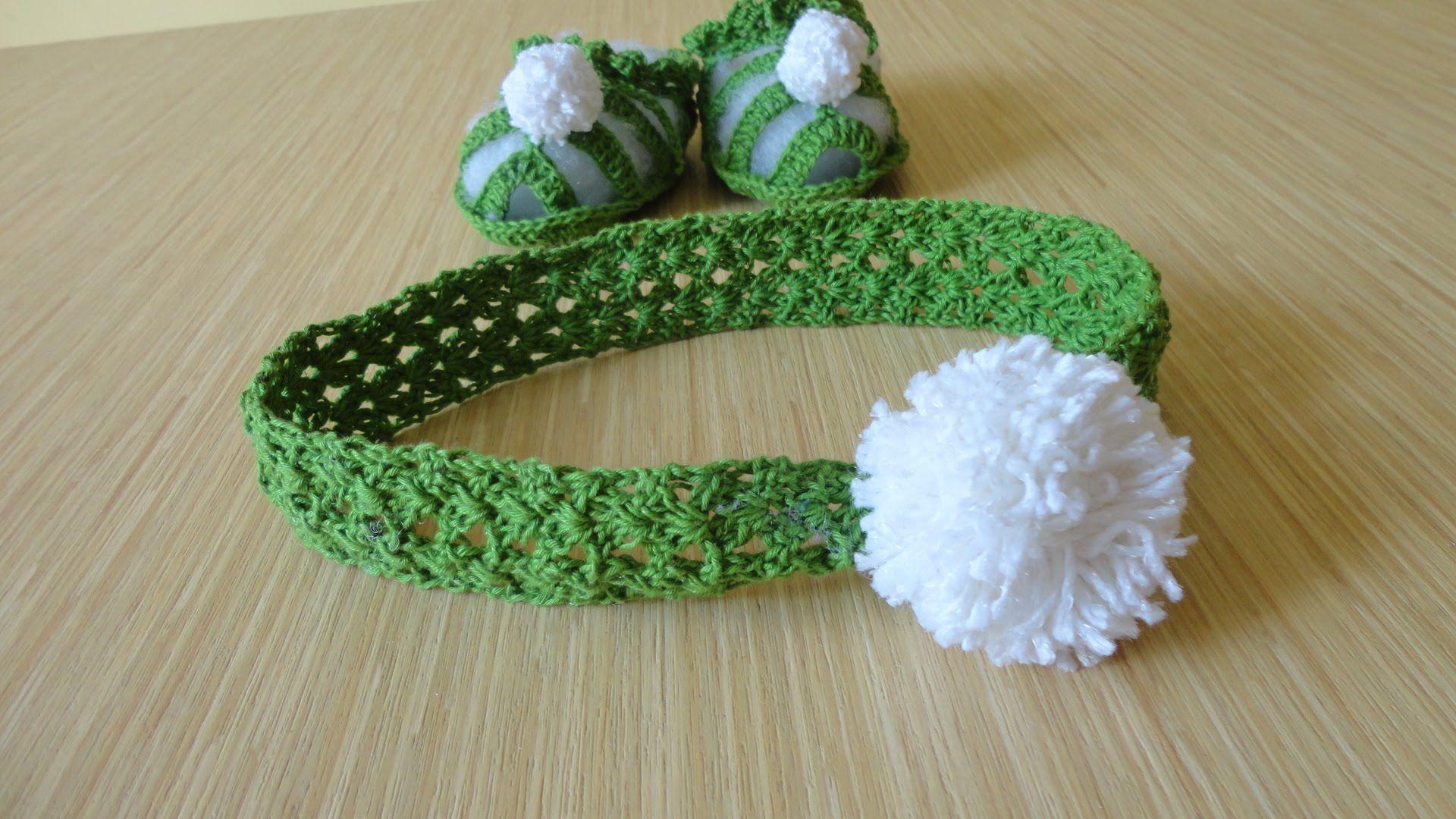 DIADEMA CROCHET RÁPIDO Y FACIL | Crochet | Pinterest | Tejidos para ...