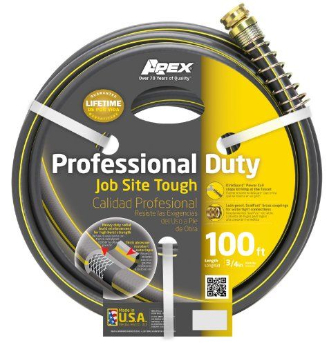 Apex 988vr100 Contractor Work Site Tough 34inchby100foot Hose Be Sure To Check Out This Awesome Product Water Hose Hose Tough