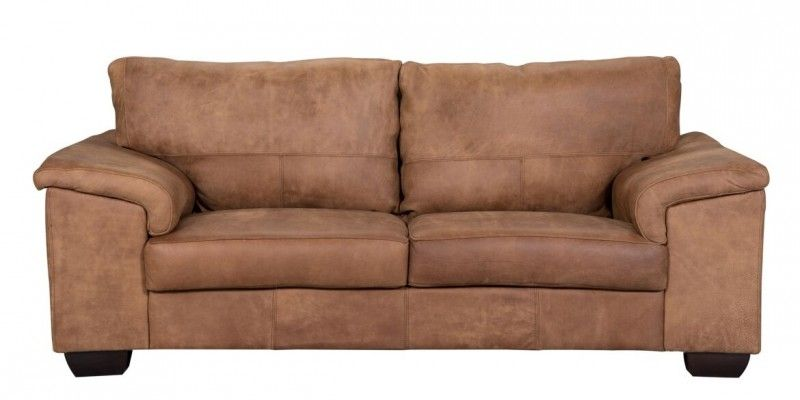 2 Seater 100 Genuine Leather Couch Available At Coricraft Genuine Leather Couches Living Room Leather Couch
