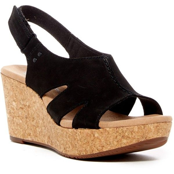 613655005dd Clarks Annadel Bari Platform Wedge Sandal ( 70) ❤ liked on Polyvore  featuring shoes