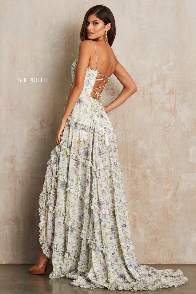 216bcea259e Sherri Hill prom dress style no. 52665 www.bravurafashion.com Bravura  Fashion is located in Marietta