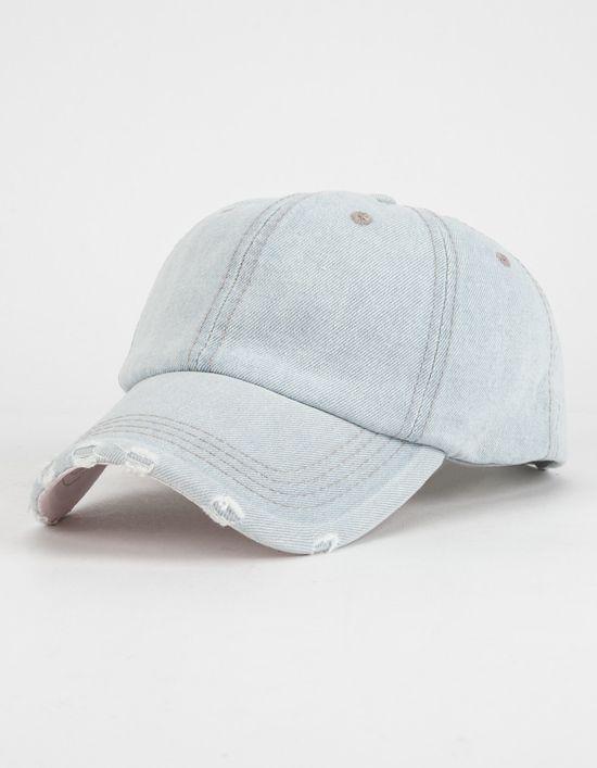 Tilly S Distressed Denim Womens Baseball Hat Baseball Hats Cute Baseball Hats Womens Hats Baseball